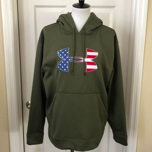 Underarmour USA Hoodie - Size Medium